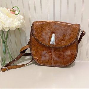 EGO Faux Leather Crossbody Bag
